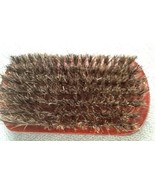 Very Soft  Mens Military Natural Bristles set in sustainable wood Hair B... - $9.05