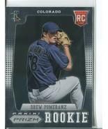 DREW POMERANZ RC 2012 Panini Prizm #170 Colorado Rockies Baseball Sports... - $1.99