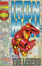 Iron Man The Legend #1 Marvel Comic 1996 Modern Age VF+ - $3.55