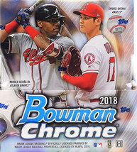 2018 Bowman Chrome Baseball Hobby Box - Factory Sealed! 2 Mini Boxes = 2... - $229.44