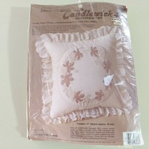 Candlewicking Embroidery Kit Pillow Grape Harbor Creative Moments - $14.84