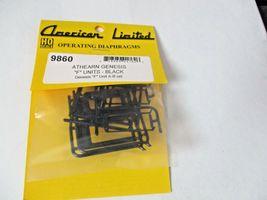 "American Limited # 9860 Athearn Genesis ""F"" Units-Black Diaphragms A-B Set (HO) image 3"