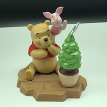 Winnie Pooh Friends Figurine Walt Disney Porcelain Enesco Piglet One Little Star - $49.45