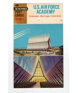 SOUVENIR POSTCARD FOLDER-VIEWS OF US AIR FORCE ACADEMY, COLORADO-6 CARDS... - $3.96