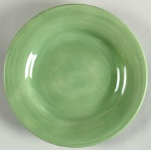 TABLETOPS UNLIMITED Espana SAGE Hand Painted Dinner Plate Width: 11 in - $18.65