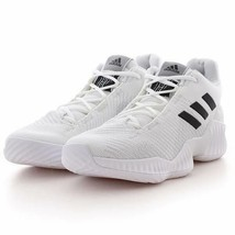 adidas Performance Pro Bounce 2018 Low BB7410 White/Black Size Mens 11 NWB - $78.10