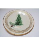 Lenox 1976 Christmas Douglas Fir Plate-11-y023 - $22.00