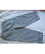 Dressbarn Ladies Capri Pants Slacks Black White... - $16.82