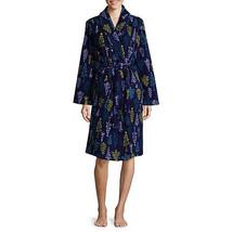 NWT $42 simply chic winter  micro fleece  Bathrobe  Robe Gown  Small - $25.98