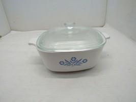 Vintage Corning Ware Blue Cornflower 1 1/2 Quart Casserole with Lid - $22.72