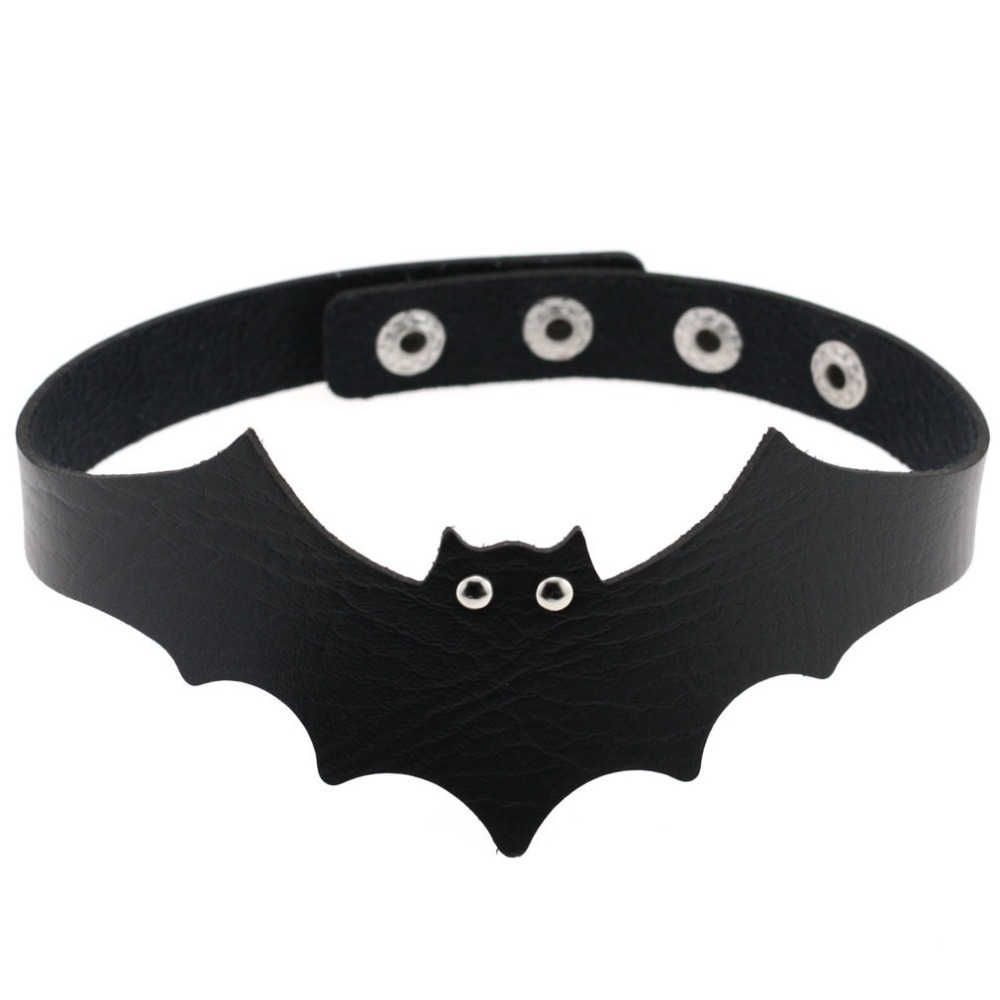 Primary image for New bat choker heart accessories 2017 Halloween Cool vintage necklace women Hand