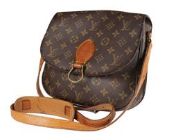 LOUIS VUITTON Saint Cloud GM Monogram Canvas Crossbody Shoulder Bag LS4120 - $519.00