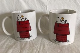 Innovative Designs Peanuts SNOOPY & Woodstock on Red Doghouse Coffee Mug... - $18.99