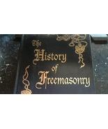 The History of Freemasonry By Albert Mackey (1996 Hardcover) - $8.00