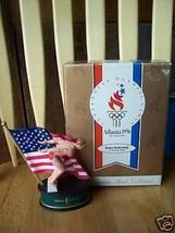 Olympic swimming figurine (Atlanta 1996) - $9.91