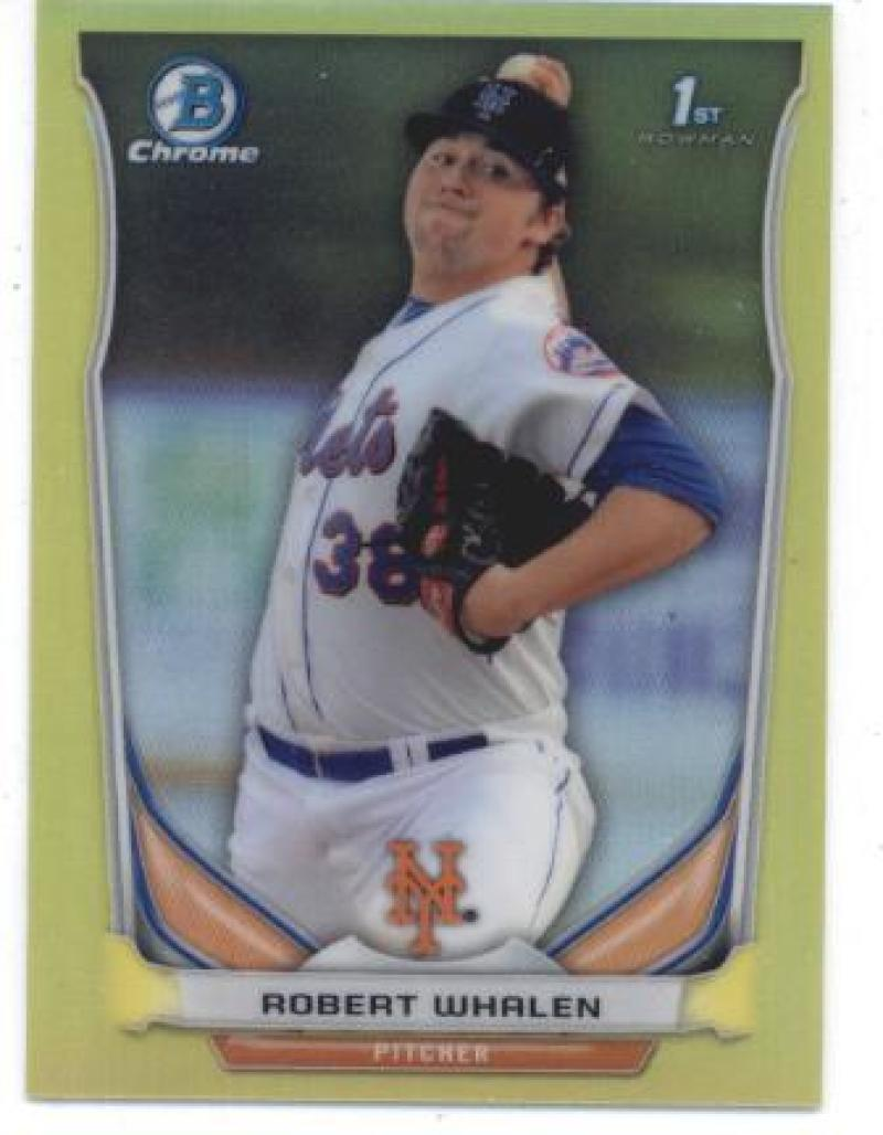 Primary image for 2014 Bowman Chrome Mini Refractors Yellow #51 Matt Whitehouse Indians NM-MT SER/