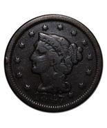 1847 Large Cent Liberty Braided Hair Head Coin ... - €20,88 EUR