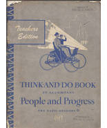 THINK-AND-DO BOOK TO ACCOMPANY PEOPLE AND PROGRESS-THE BASIC - $19.97