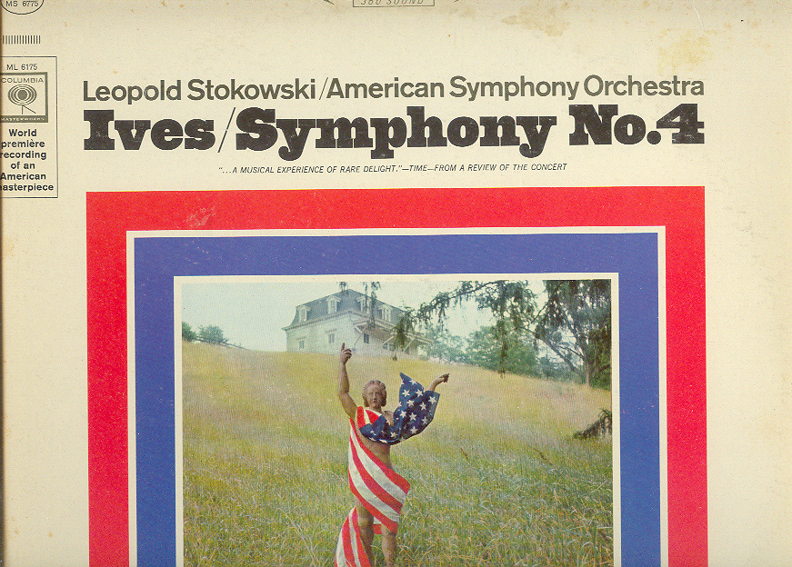 Primary image for IVES Symphony No. 4 LP Stokowski
