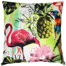 Pillow Decor - Tropical Oasis Throw Pillow 24x24 - $120.00