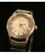 Rare vintage 1950's Ernest Borel Swiss 17 jewel Incastar all steel wrist... - $108.90