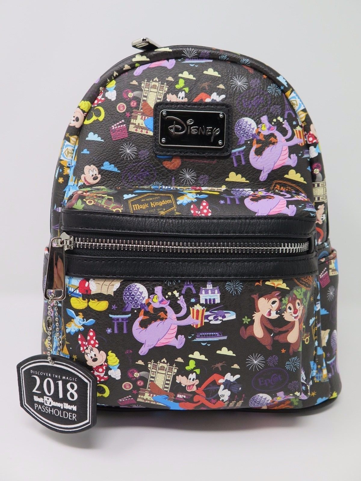 adc489b4e97 57. 57. Previous. Disney Parks 2018 AP Annual Passholder Exclusive Mini Loungefly  Backpack WDW · Disney ...