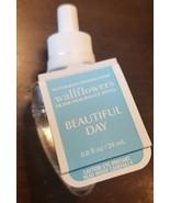 NEW Bath & Body Works Wallflowers BEAUTIFUL DAY Fragrance Refill Bulb - $9.49
