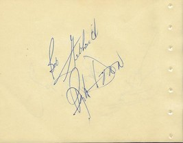 Joe Morgan Bob Gebhard + 2 Signed Vintage Album Page - $37.28