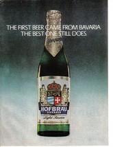 Original - 1976 Rare  Hofbrau Bavaria Beer Full Page Color Print Ad - Ne... - $6.99