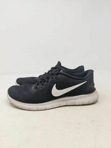 Nike Womens Free Rn Shoes Black 831509-001 Low Top Lace Up Sneakers 8.5 M - $26.72