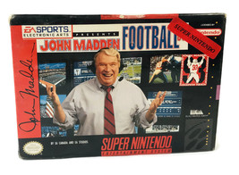 John Madden Football '93 (Super Nintendo Entertainment System SNES) NEW ... - $49.99
