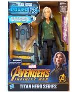 Marvel Avengers Infinity War Black Widow Titan Hero Series 12 in figure - $11.99