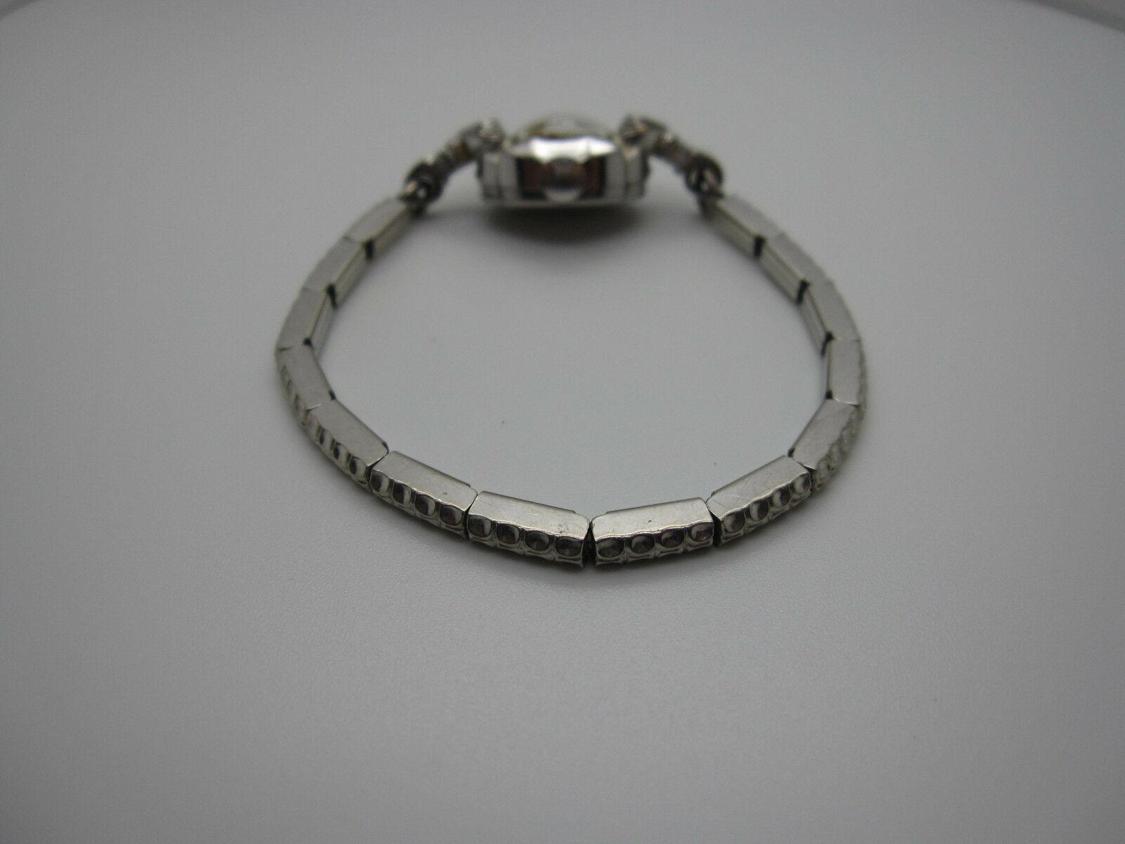 Vintage Women's Hallmark 25 Jewels 10k Rolled Gold Plated Hand Wind Watch image 9