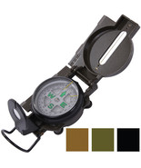 Lensatic Marching Compass Liquid Filled Camping Outdoor Tactical  - $9.99