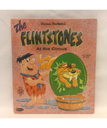 The Flintstones at the Circus vintage Whitman Tell-A-Tale children's boo... - $5.00