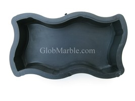 Paving Stone Mold. Paver Cement Forms. Plastic... - $14.99
