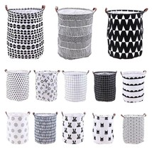 Standing Toys Clothing Storage Bucket Laundry Basket Holder Pouch Househ... - €29,78 EUR