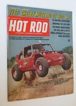 HOT ROD Magazine November 1968  Shelby Mustang GT 500  Richard Petty Off... - $8.00