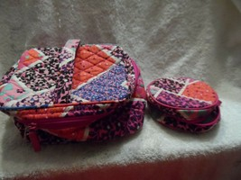 Vera Bradley set of 2 - a cosmetic and a jewelry case in Modern Medley pattern - $22.00