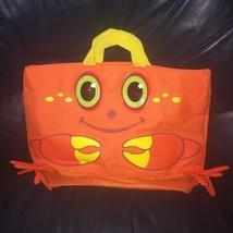 Melissa and Doug Orange Sunny Patch Clicker Crab Beach Bag Tote - $24.99