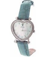 Swiss movt Aqua Master watch lady style 0.50ct diamond M-O-P - $143.55
