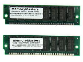 32MB (2X16MB) FOR AKAI MPC3000 FPM NON-PARITY 60NS SIMM 30-PIN 5V 16X8 - $28.22