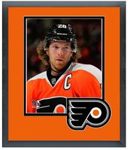 "Claude Giroux 2013-14 Philadelphia Flyers - 11"" x 14"" Matted and Framed Photo  - $43.95"