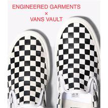 Men 9.5Us Engineerd Garments Vans Vault Slip-On Lx - $270.99