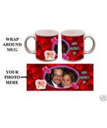 Custom Valentines Day Personalized 11oz Photo Mug Gift #1 - $12.99
