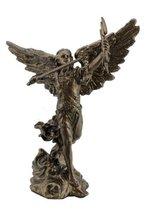 4 Inch Archangel Remiel Statue Figurine Figure Religious Saint Angel Santo St - $19.00