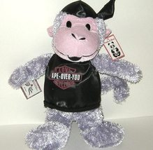 1/2 Price! Peek A Boo Love Cycles Ape Over You Plush Monkey NWT - $4.00