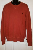 Polo by Ralph Lauren Men's Long Sleeve Knit Pullover Scoop Neck Sweater 2XL - $24.26
