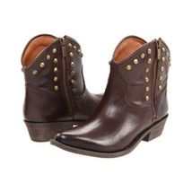 NEW Lucky Brand CICILY Tobacco Leather Boots 6.5 - $69.29