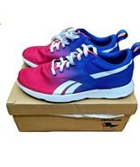 Reebok Blue And Pink Fade Lightweight Sneakers 8 US NEW NIB - $99.99